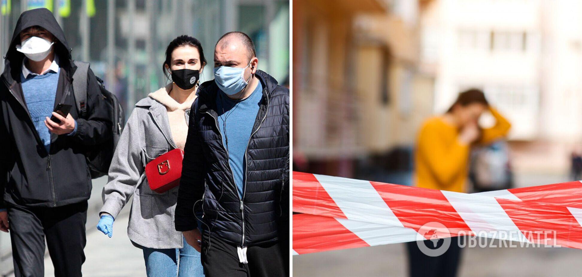 В Украине начинается новый пик коронавируса, возможен локдаун, – академик НАН