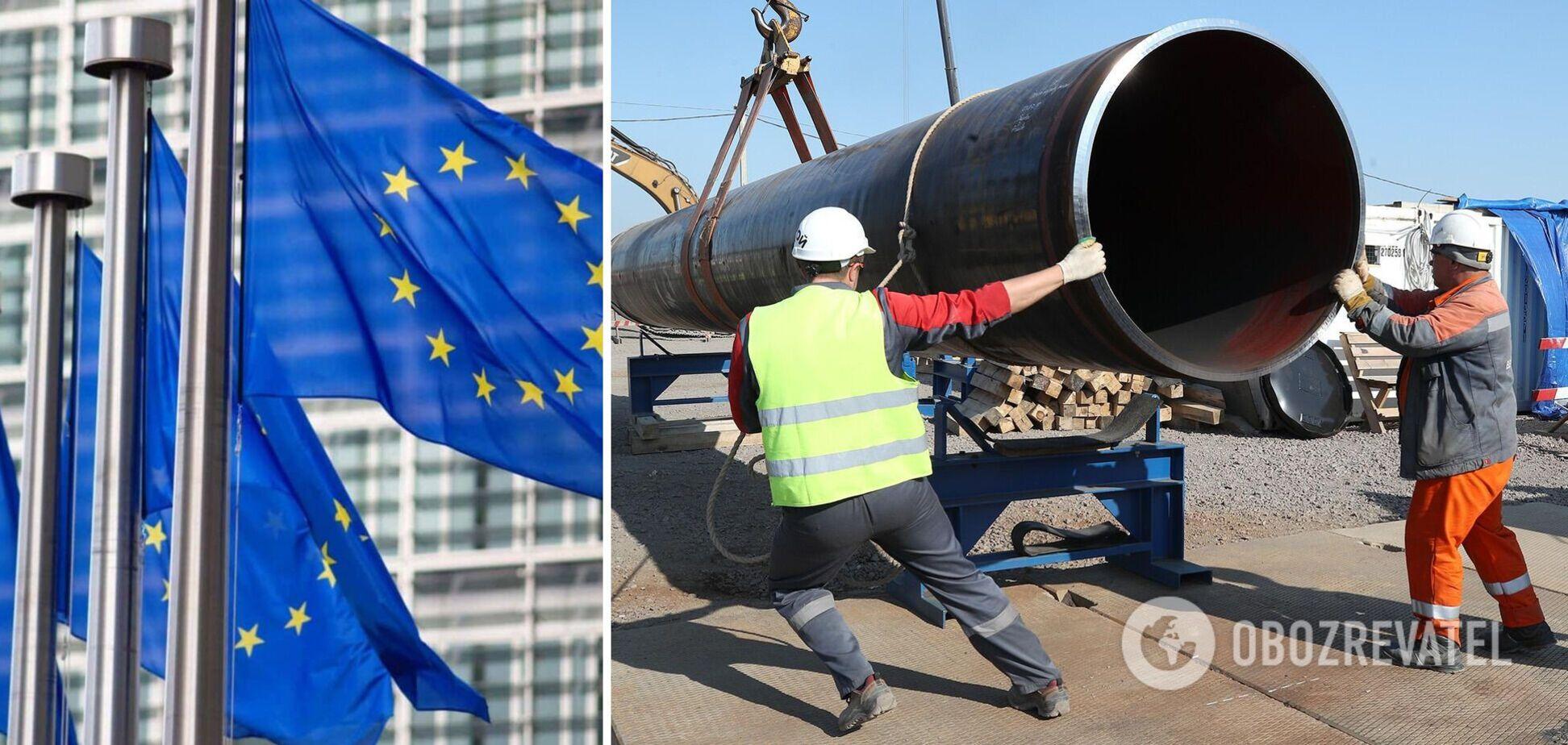 У Мінекономіки Франції вважають 'Північний потік-2' втручанням в енергетичну політику ЄС