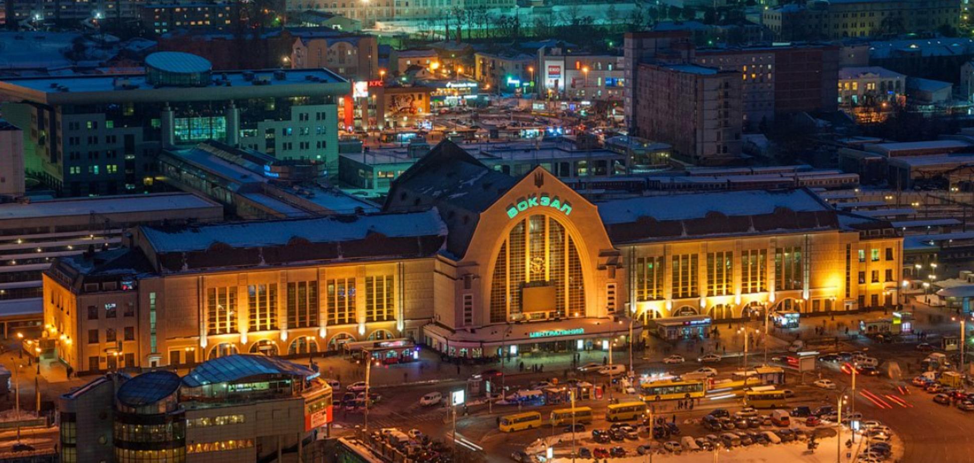 Железнодорожный вокзал Киева: от деревянного барака до памятника архитектуры. Фото
