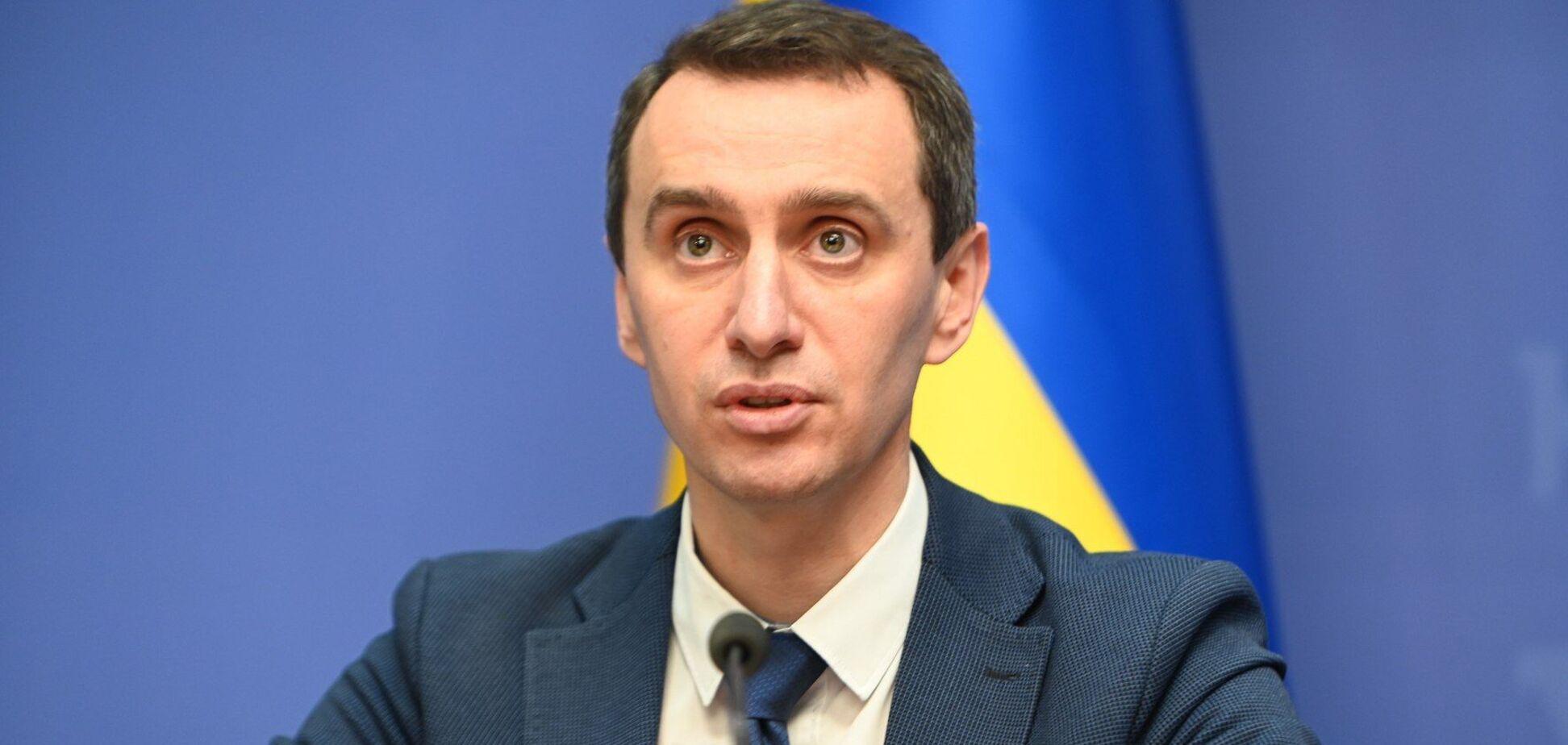Украина не отстает от Европы по графику вакцинации, темпы значительно вырастут, – Ляшко