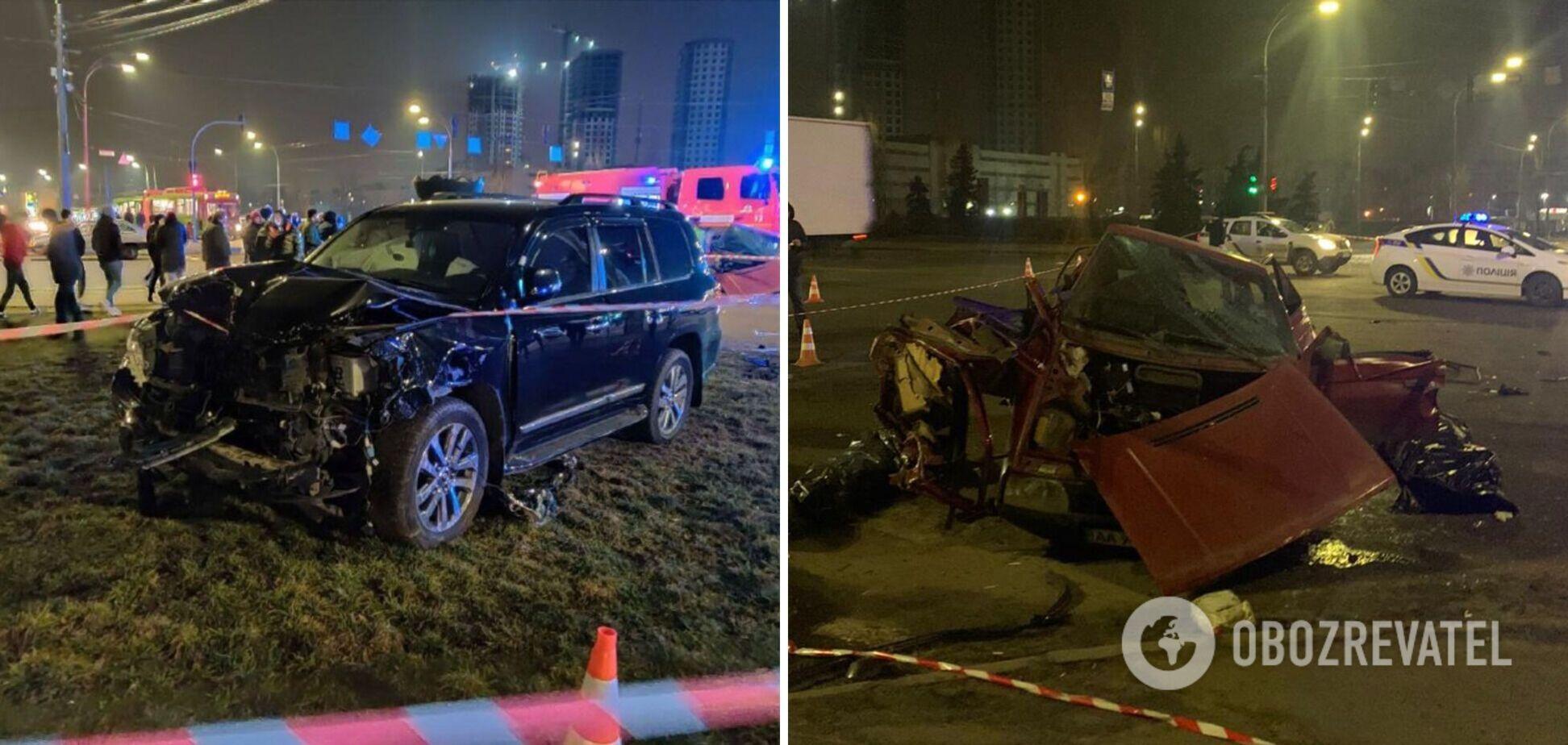 Водію позашляховика, який п'яним влаштував смертельну ДТП у Києві, оголосили підозру