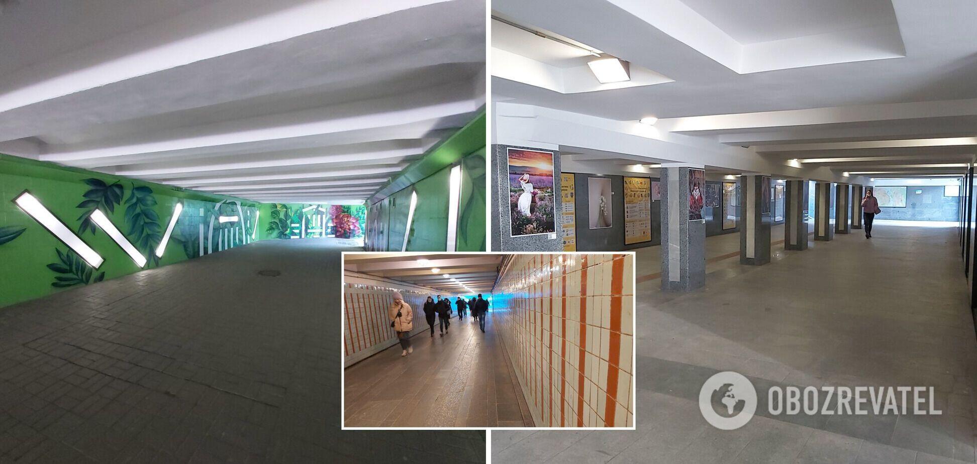 Ремонти, боротьба з МАФами і чистота: рейд підземними переходами Києва. Відео