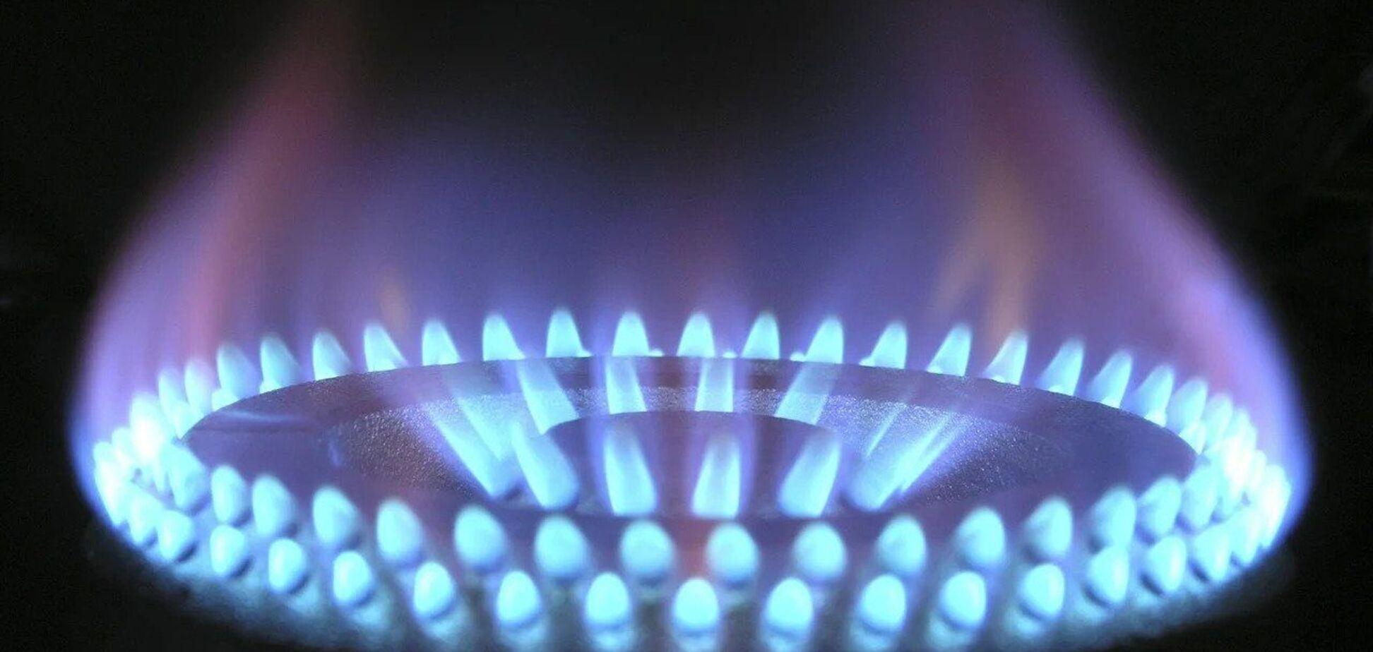 В Україні за рік споживання газу населенням скоротилося на 14%