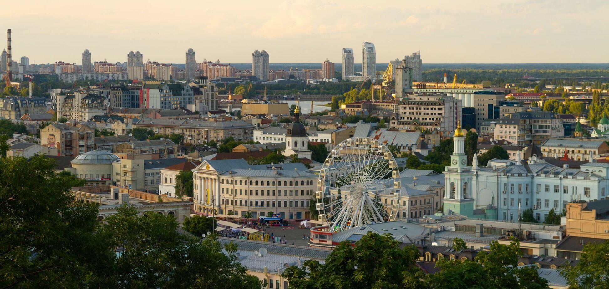 Більшість місць знаходиться в центрі столиці