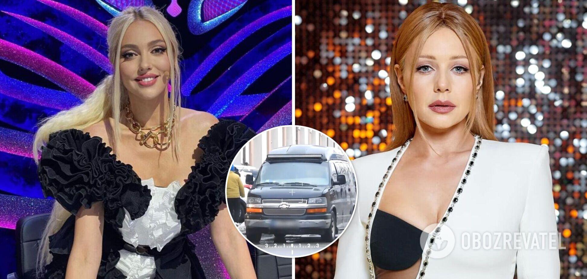 Полякова, Каменских, Кароль и другие: в СМИ показали элитные авто украинских звезд