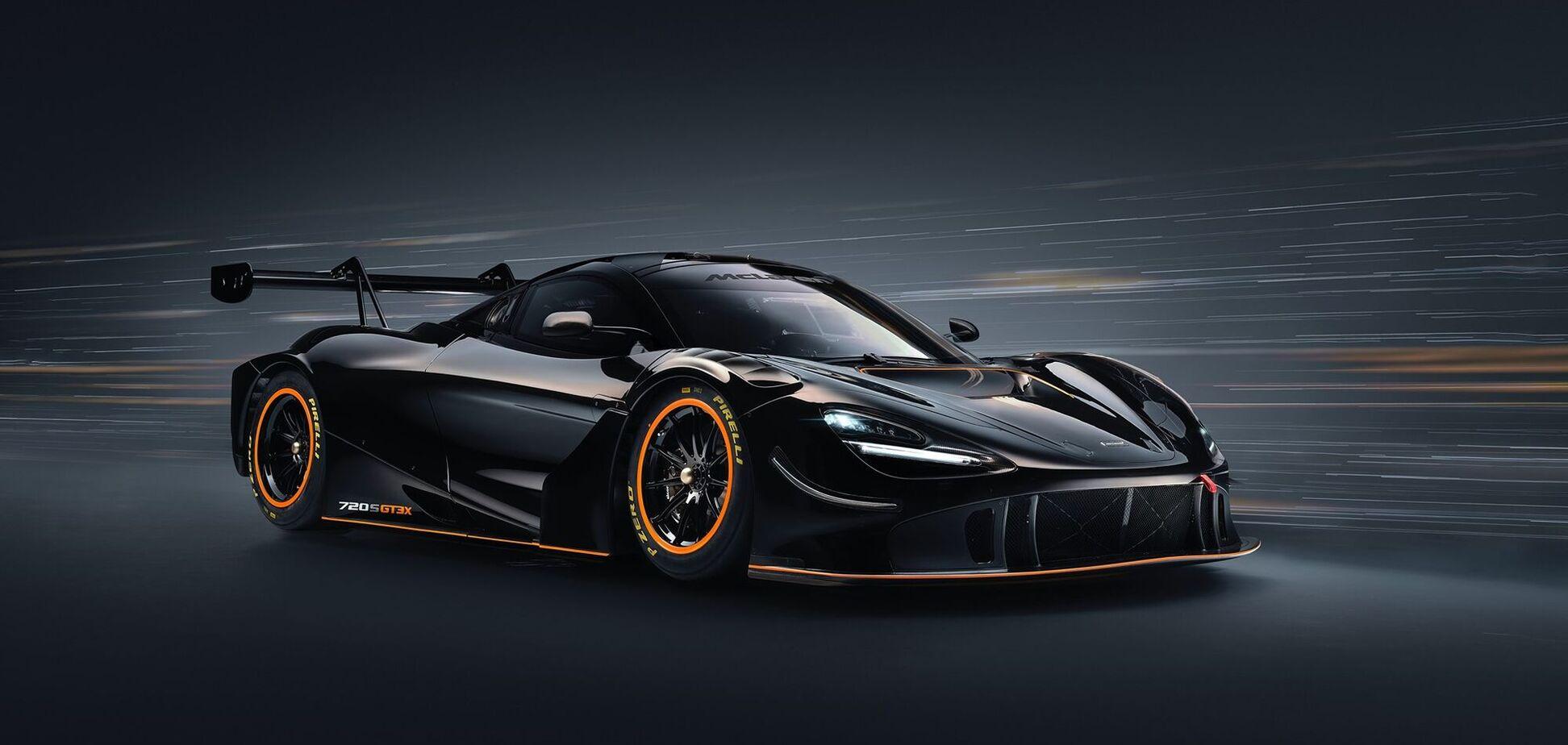 McLaren 720S GT3X сделали мощнее и быстрее
