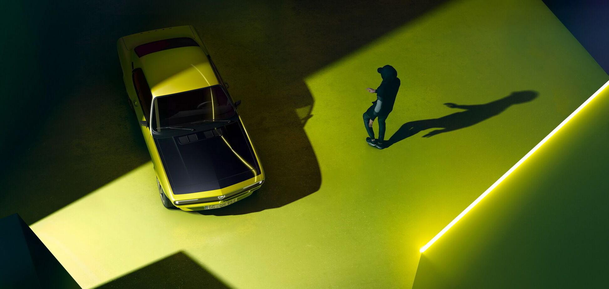 Opel показал рестомод Manta GSe ElektroMOD