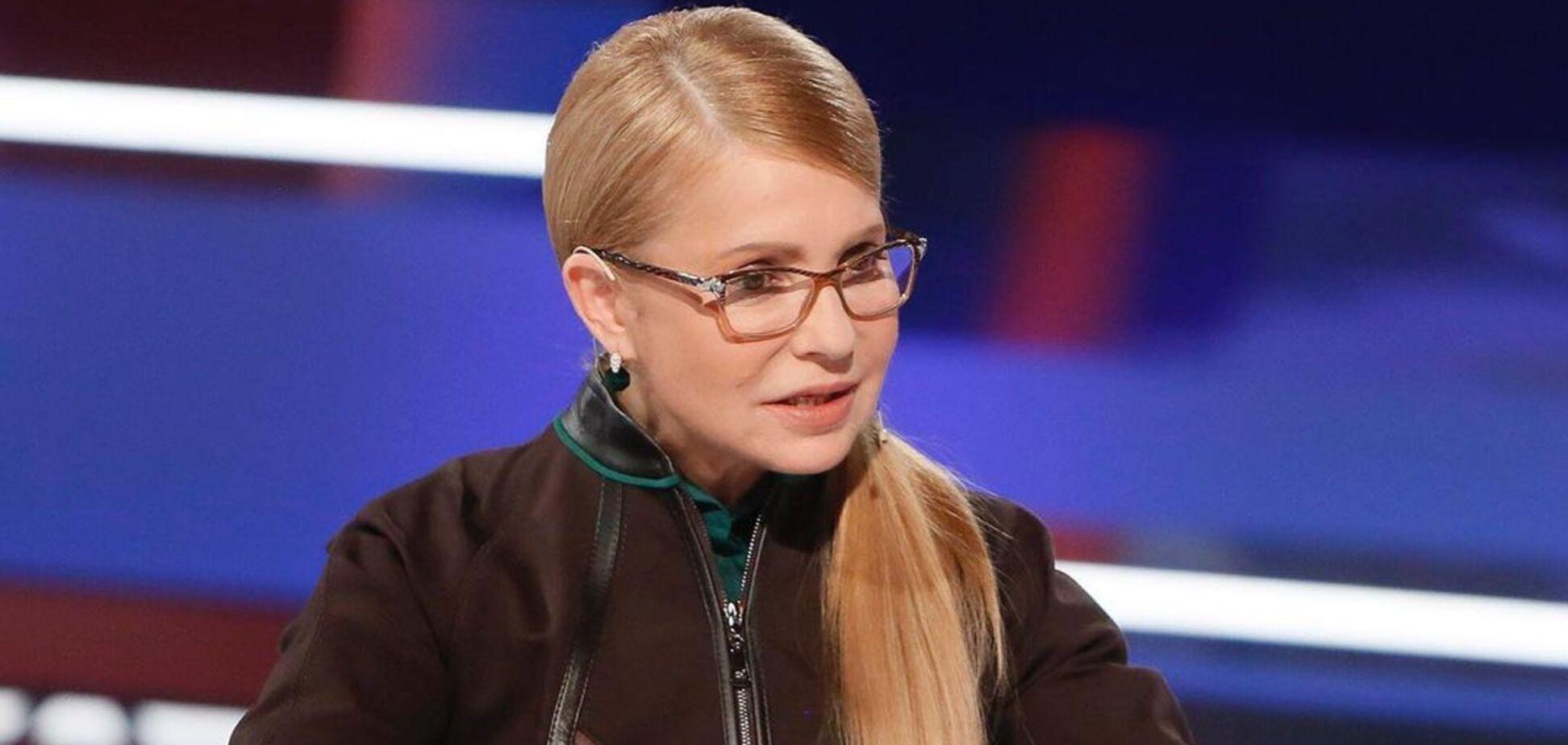 Тимошенко прийшла в Раду з розпущеним волоссям. Фото