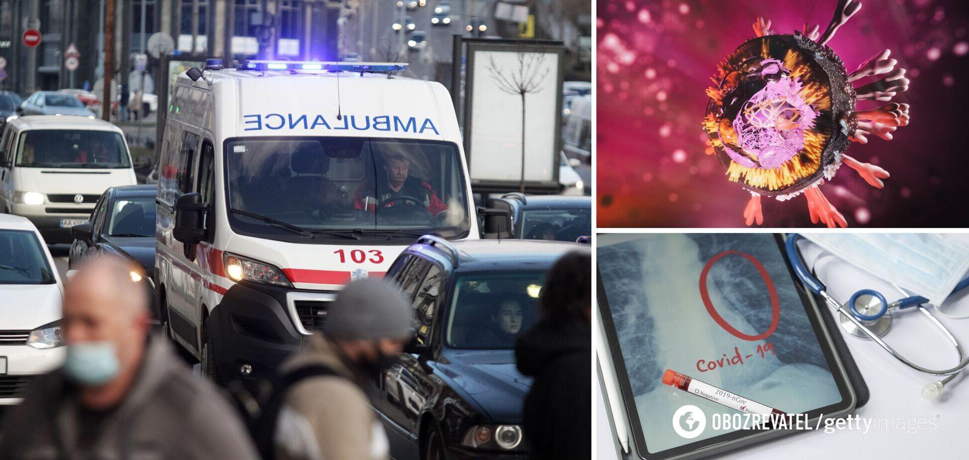 В двух областях Украины подтвердили распространение британского мутанта COVID-19