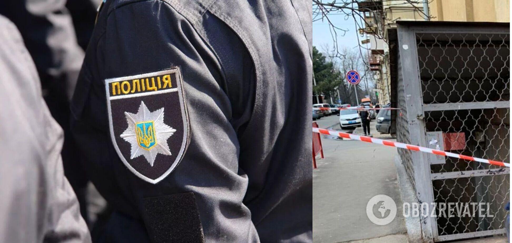 В Одесі біля школи знайшли тіло жінки в мішку. Фото