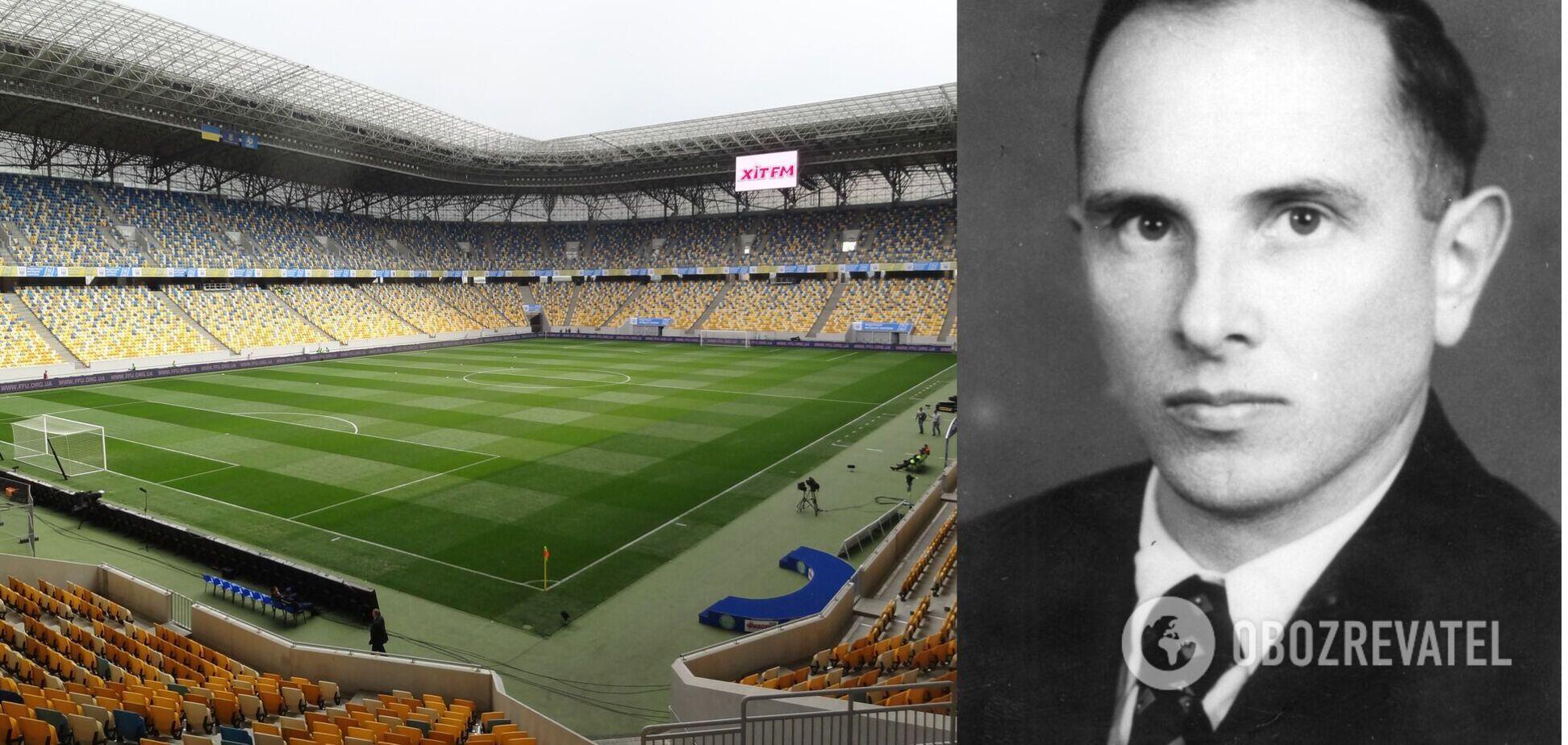 Стадиону 'Арена Львов' хотят присвоить имя Степана Бандеры