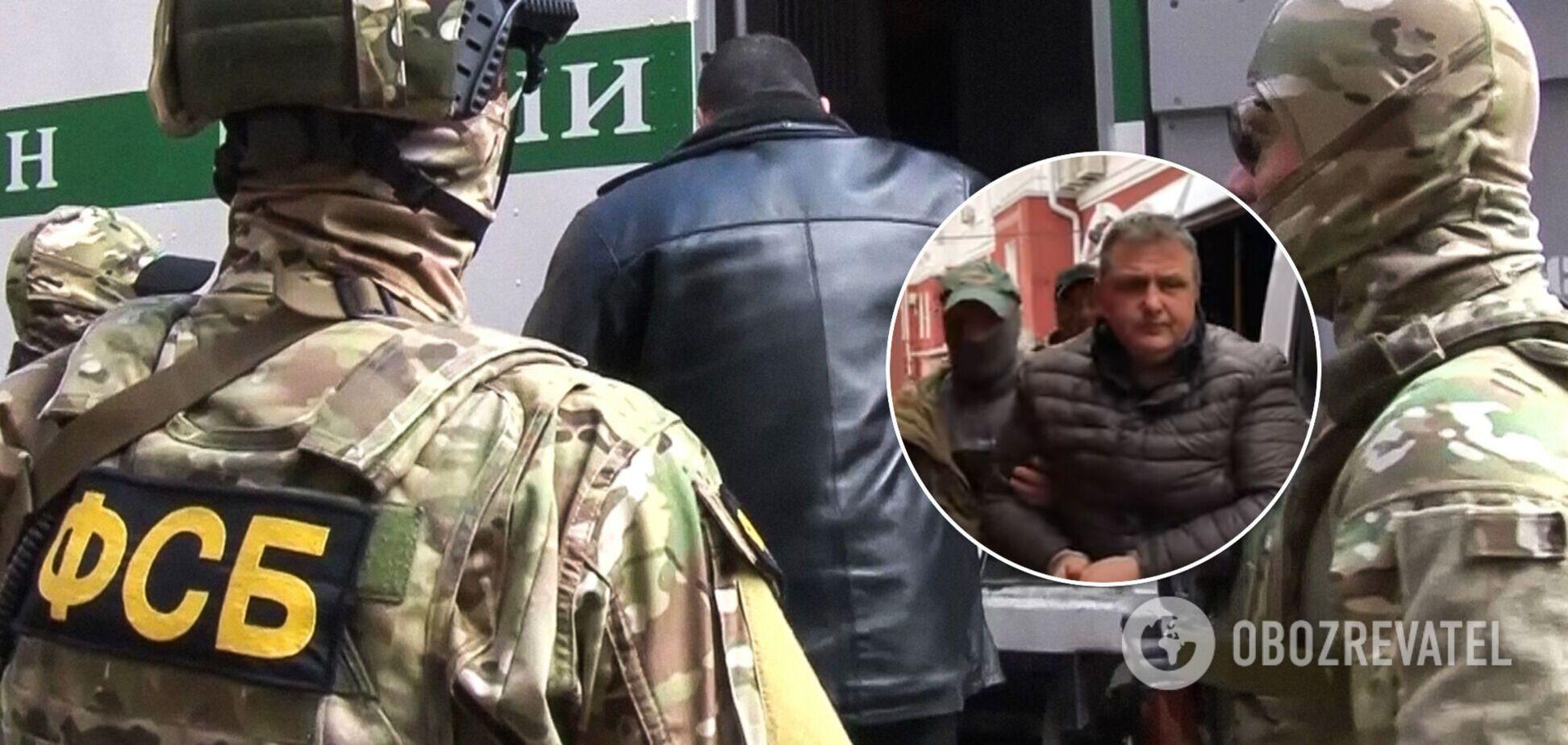 ФСБ затримала в Криму журналіста за 'шпигунство на користь України': відео та деталі
