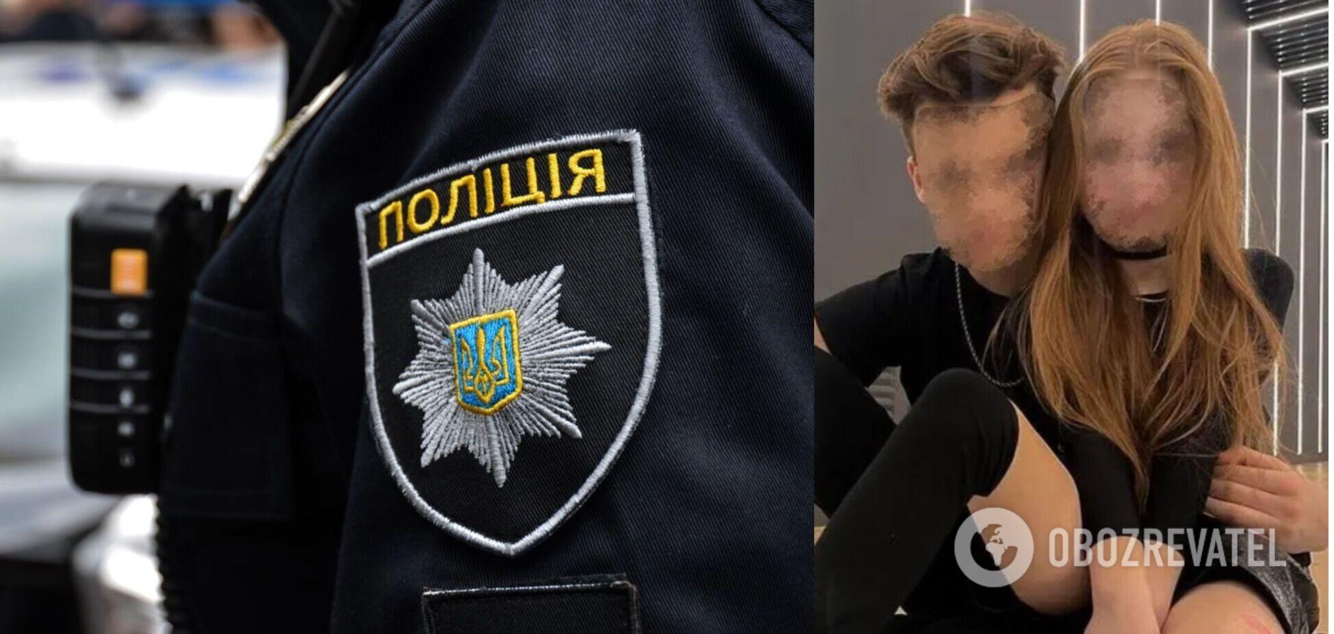 Полиция открыла уголовное производство из-за отношений 8-летней украинки с 13-летним блогером