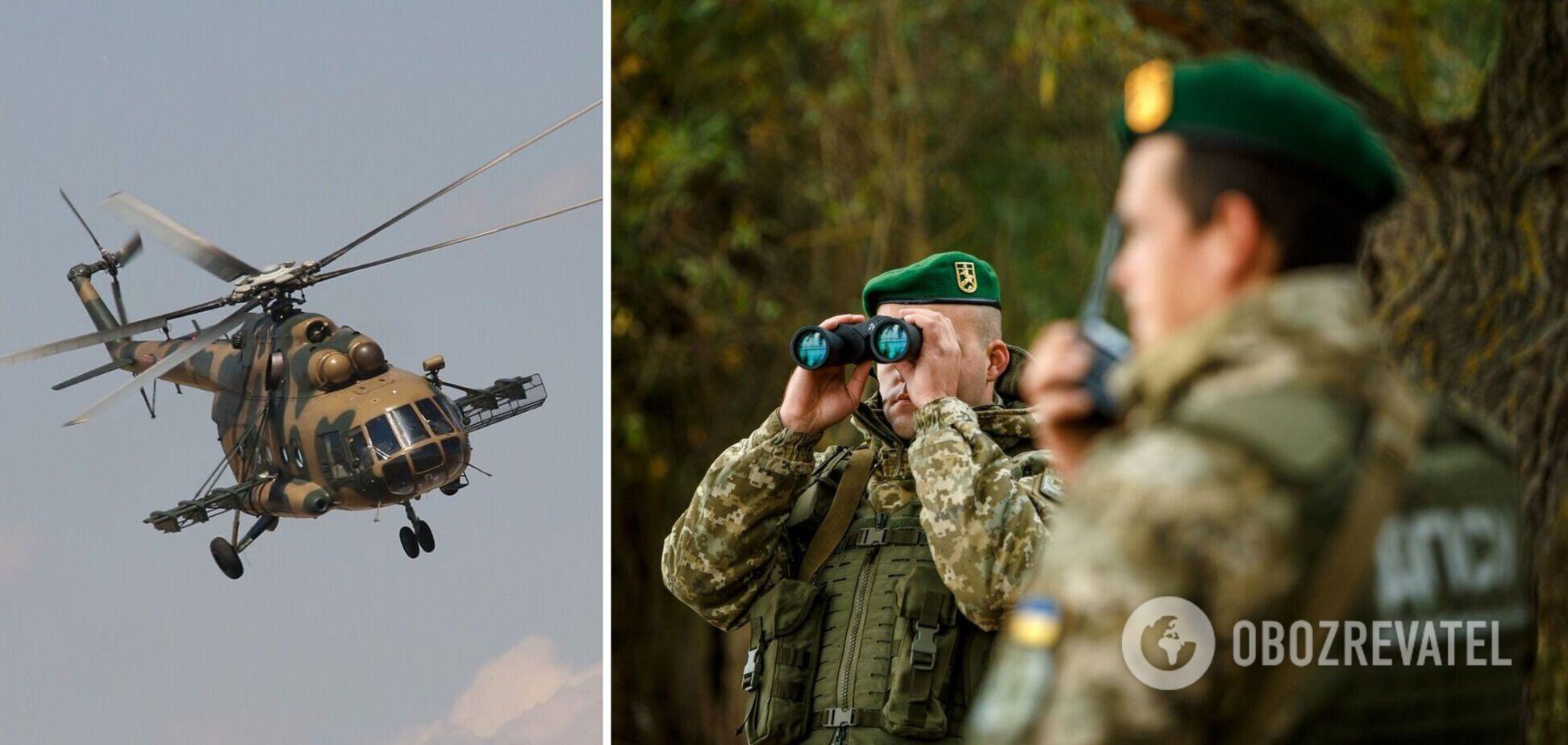 У ЗСУ відреагували на порушення російським вертольотом кордону України
