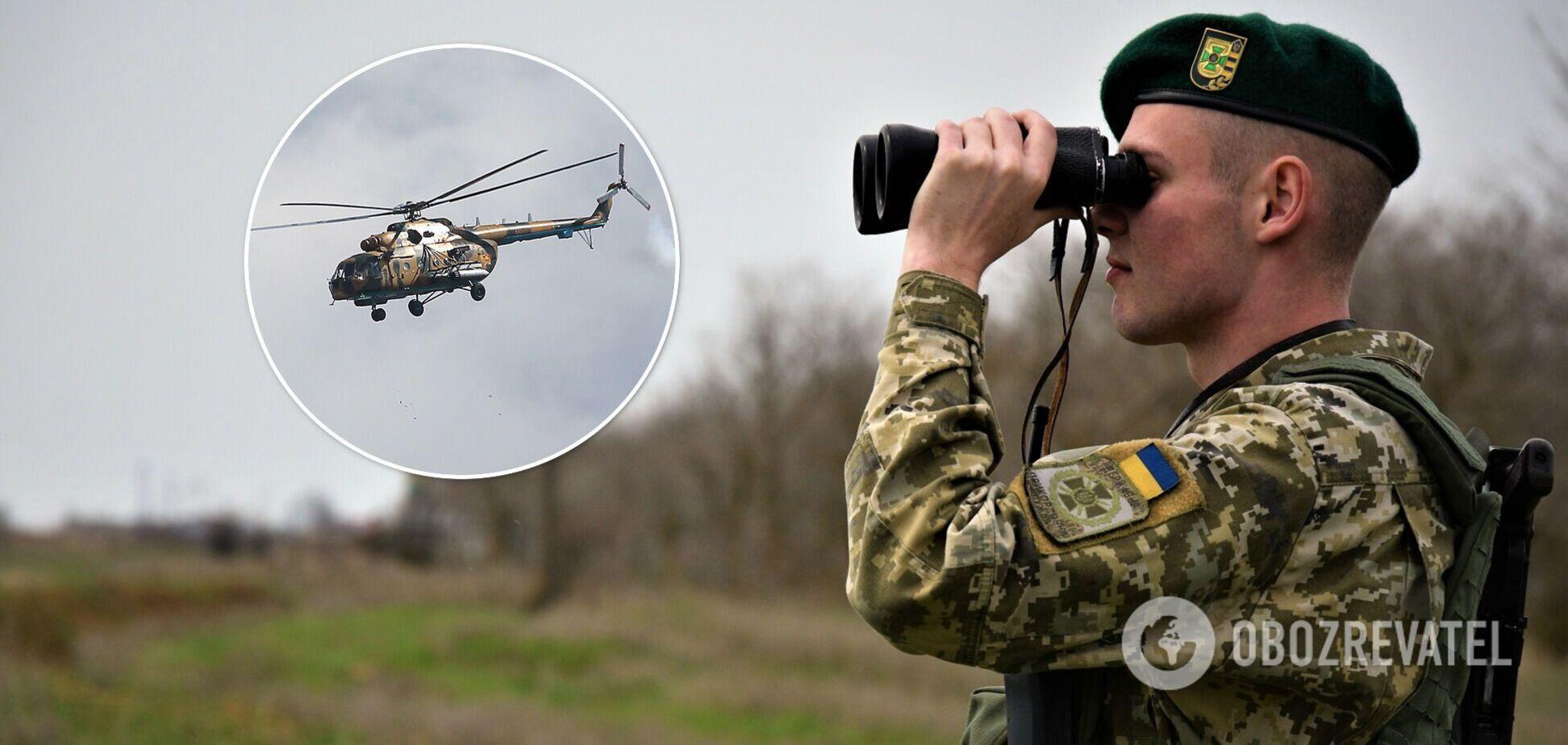 Российский вертолет нарушил воздушное пространство Украины: направлено срочное письмо. Видео