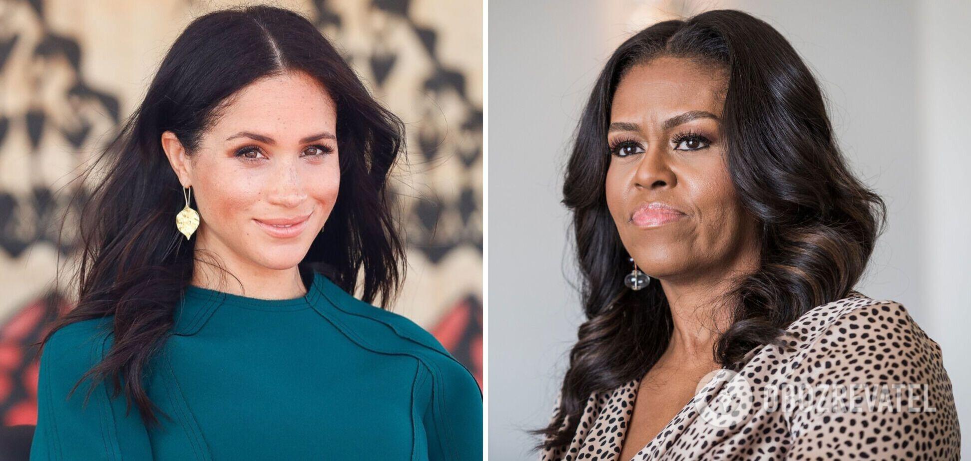 Мишель Обама прокомментировала интервью Меган Маркл и принца Гарри