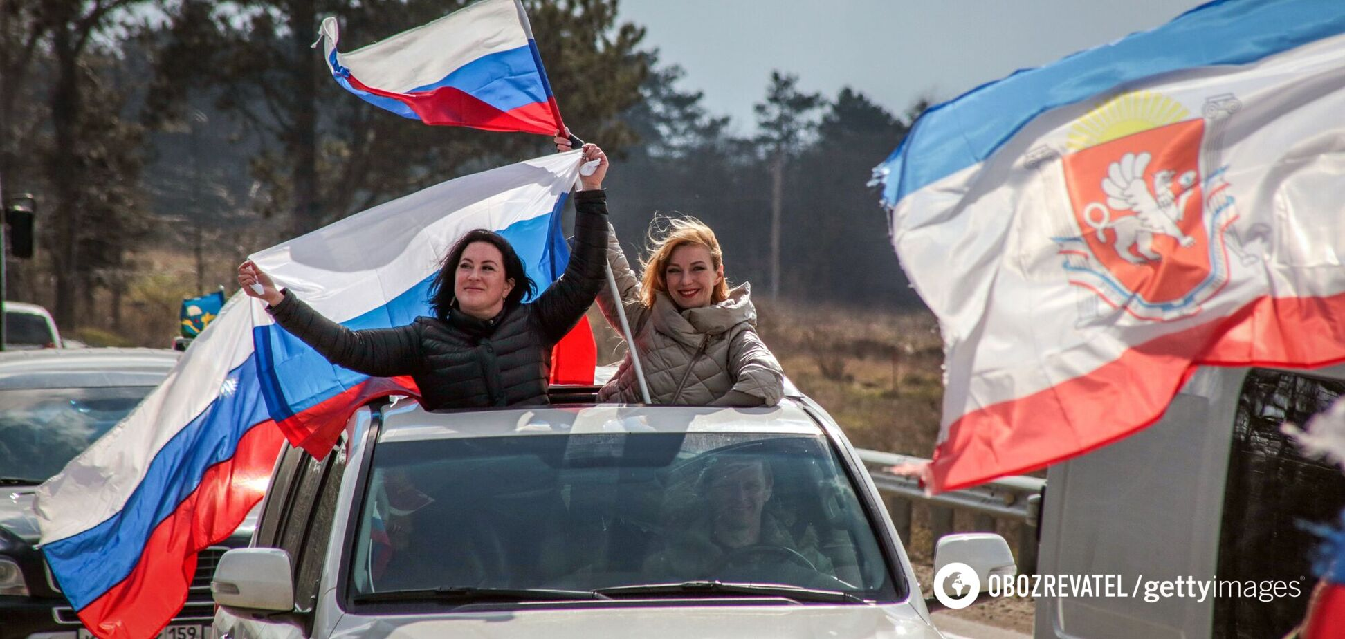 В Крыму сняли карантин, чтобы отметить годовщину оккупации