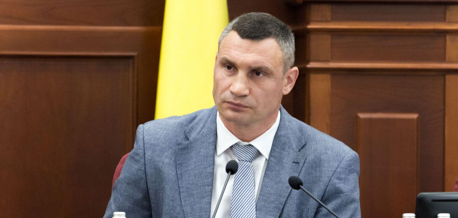 Кличко рассказал, сколько средств бюджет Киева потерял из-за карантина