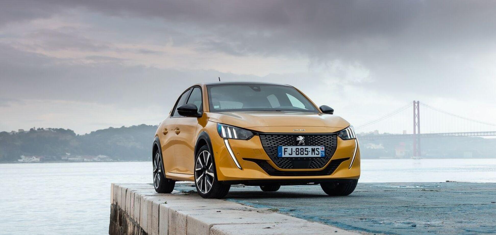 Названы украинские цены на Peugeot 208 нового поколения