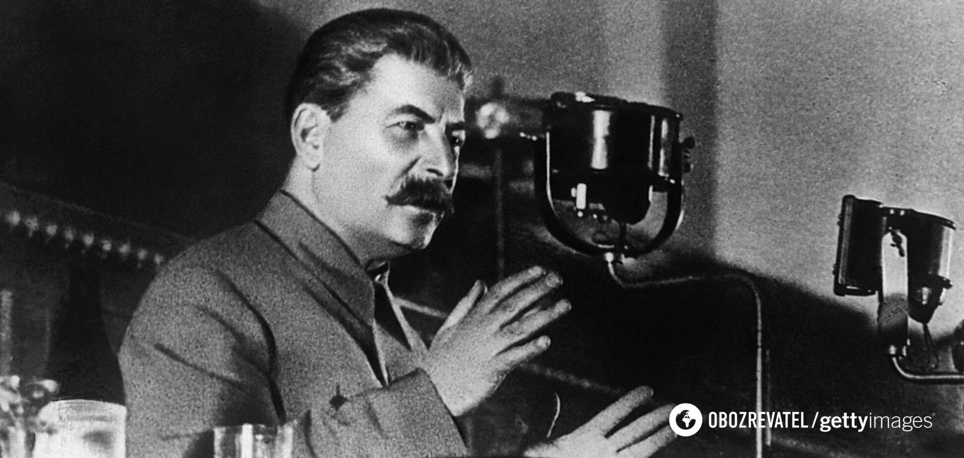 Радянський диктатор Йосип Сталін