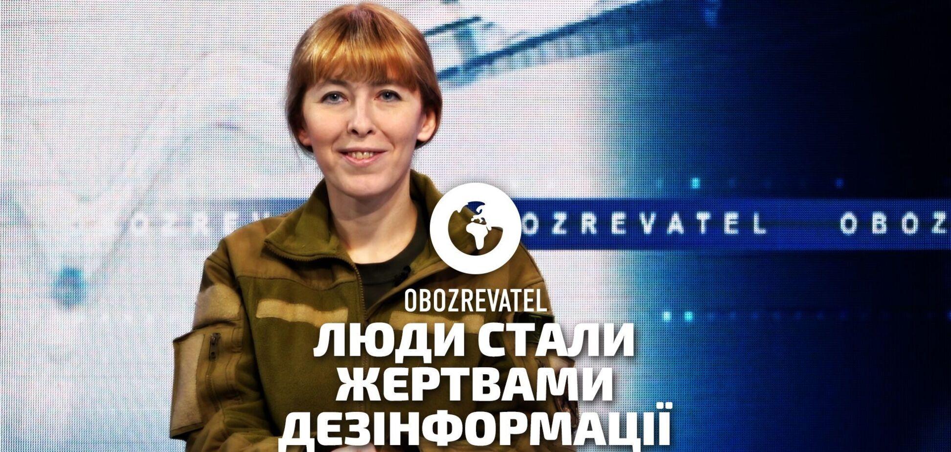 Вакцинація провалюється, бо люди стали жертвами дезінформації –ветеранка АТО Олена Білозерська