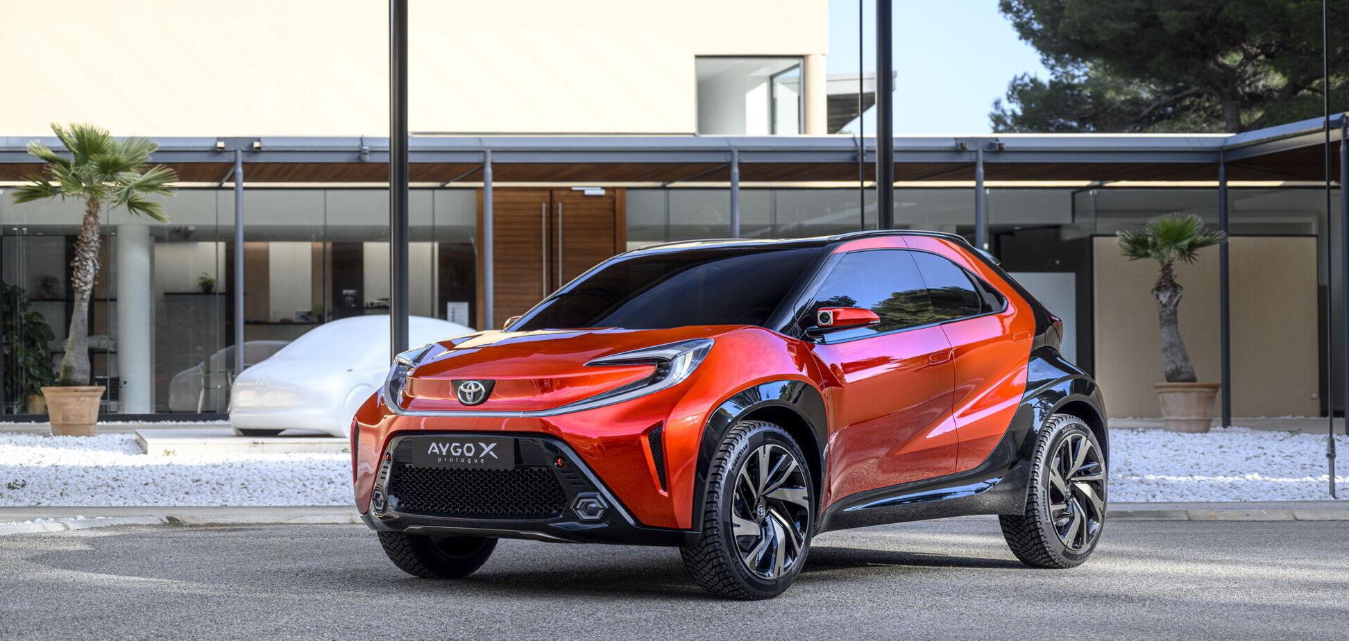 Toyota заінтригувала концептом Aygo X Prologue