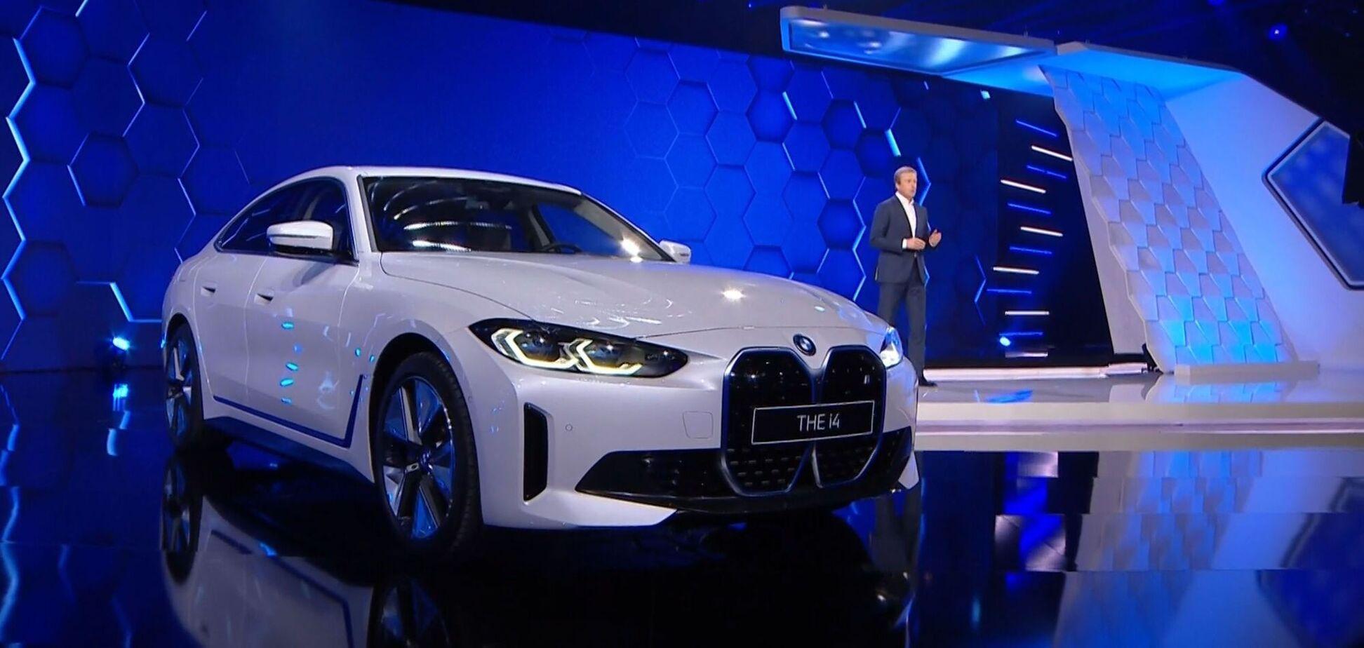 BMW анонсировала спортивный электроседан i4