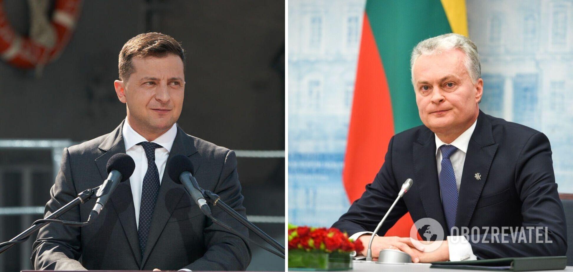 Зеленський зустрінеться з президентом Литви в Києві: озвучено план
