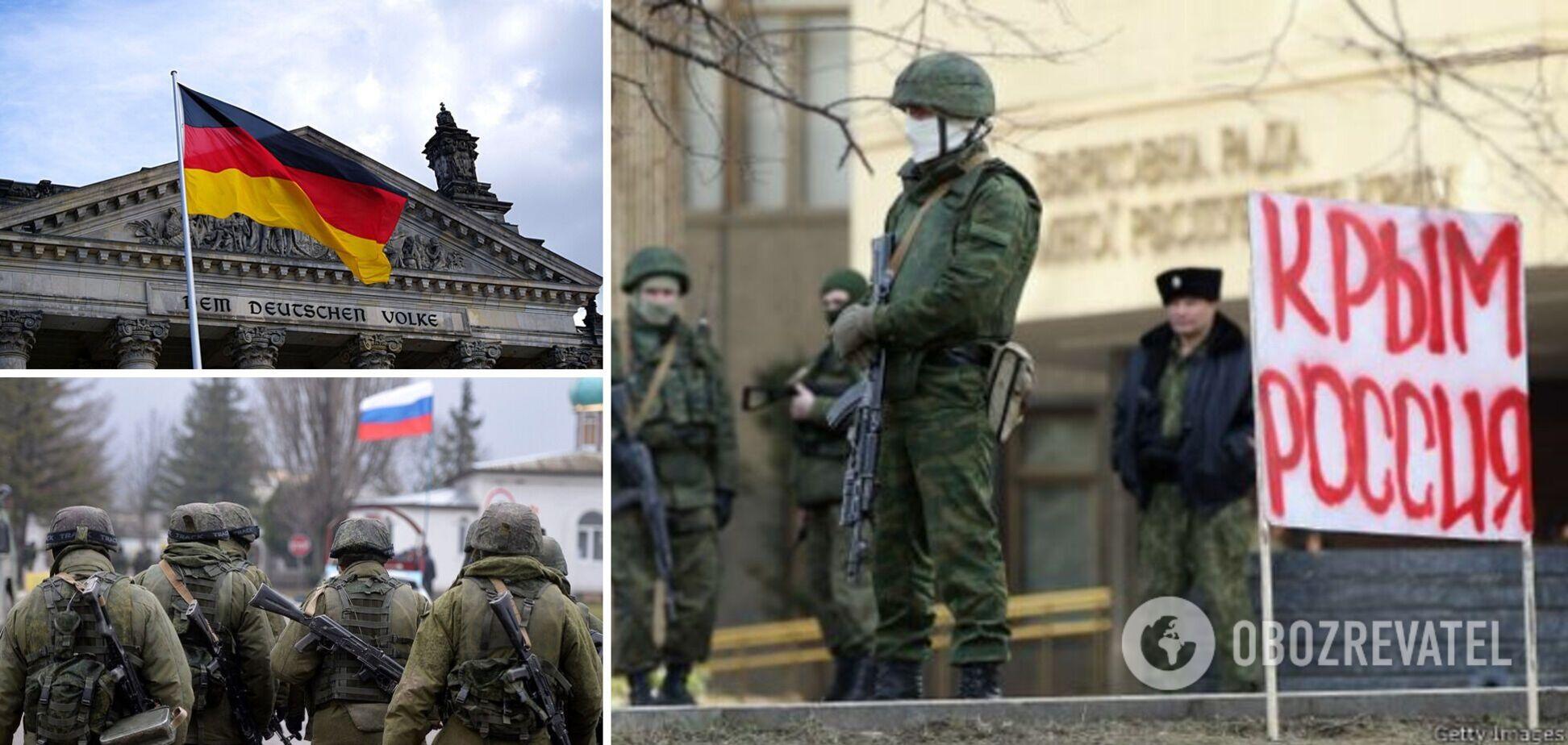 Посол України назвав моральним обов'язком Німеччини звільнення Криму від окупантів