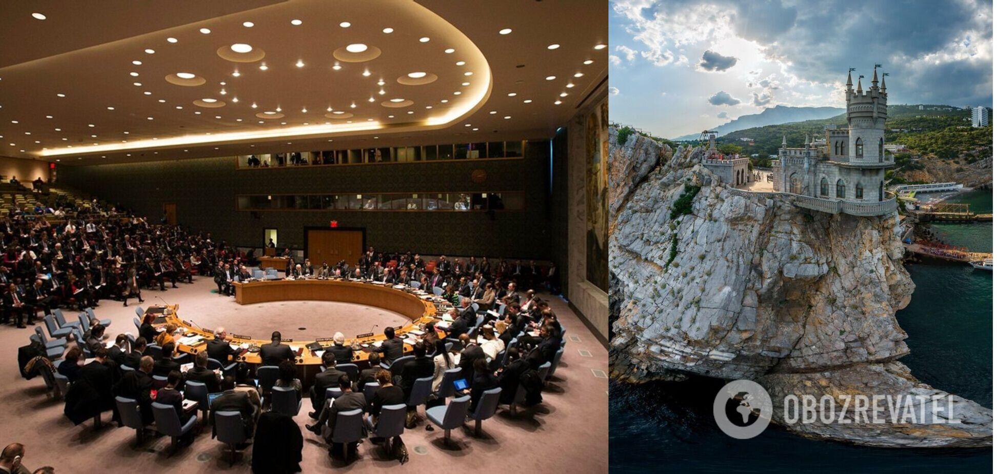МЗС повідомило про провал Росії в Радбезі ООН