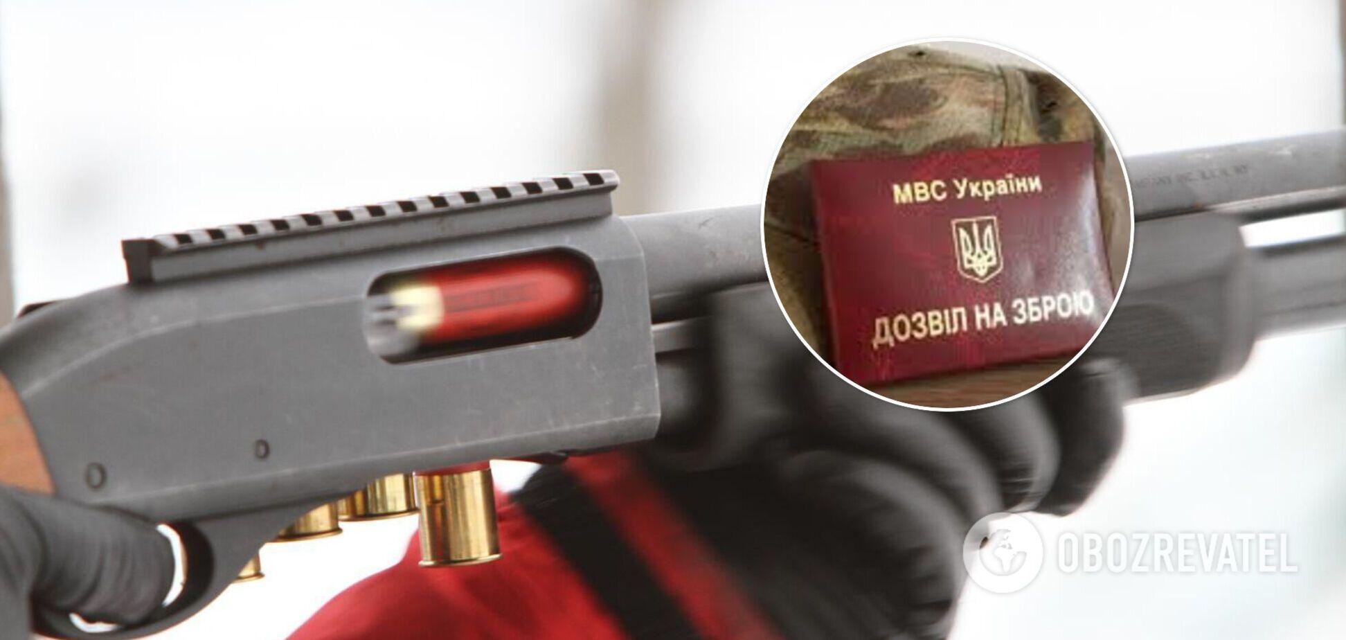 В полиции назвали дату возобновления выдачи разрешений на оружие в Украине