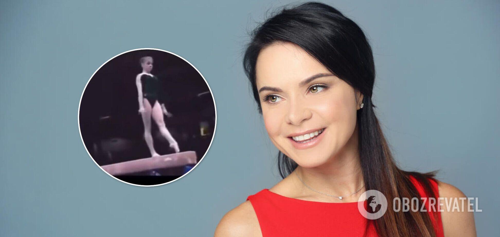 Подкопаева показала свое легендарное выступление, на котором стала олимпийской чемпионкой