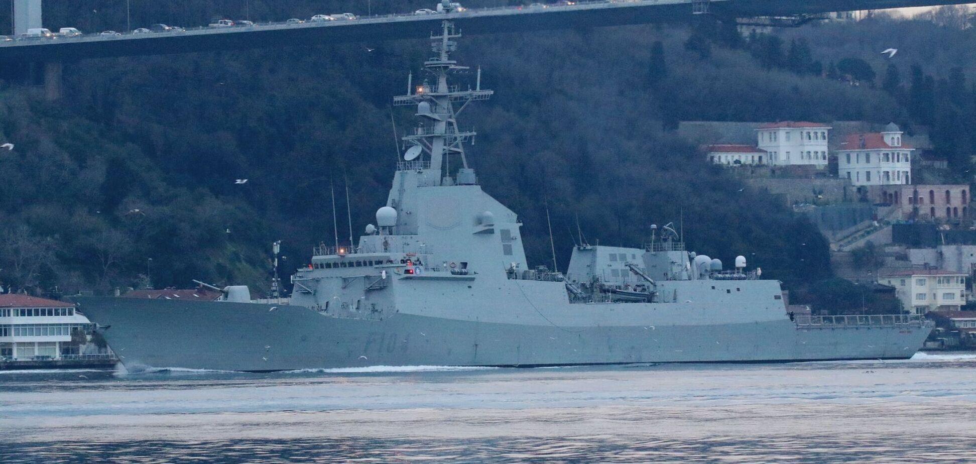 Корабель НАТО у Чорному морі