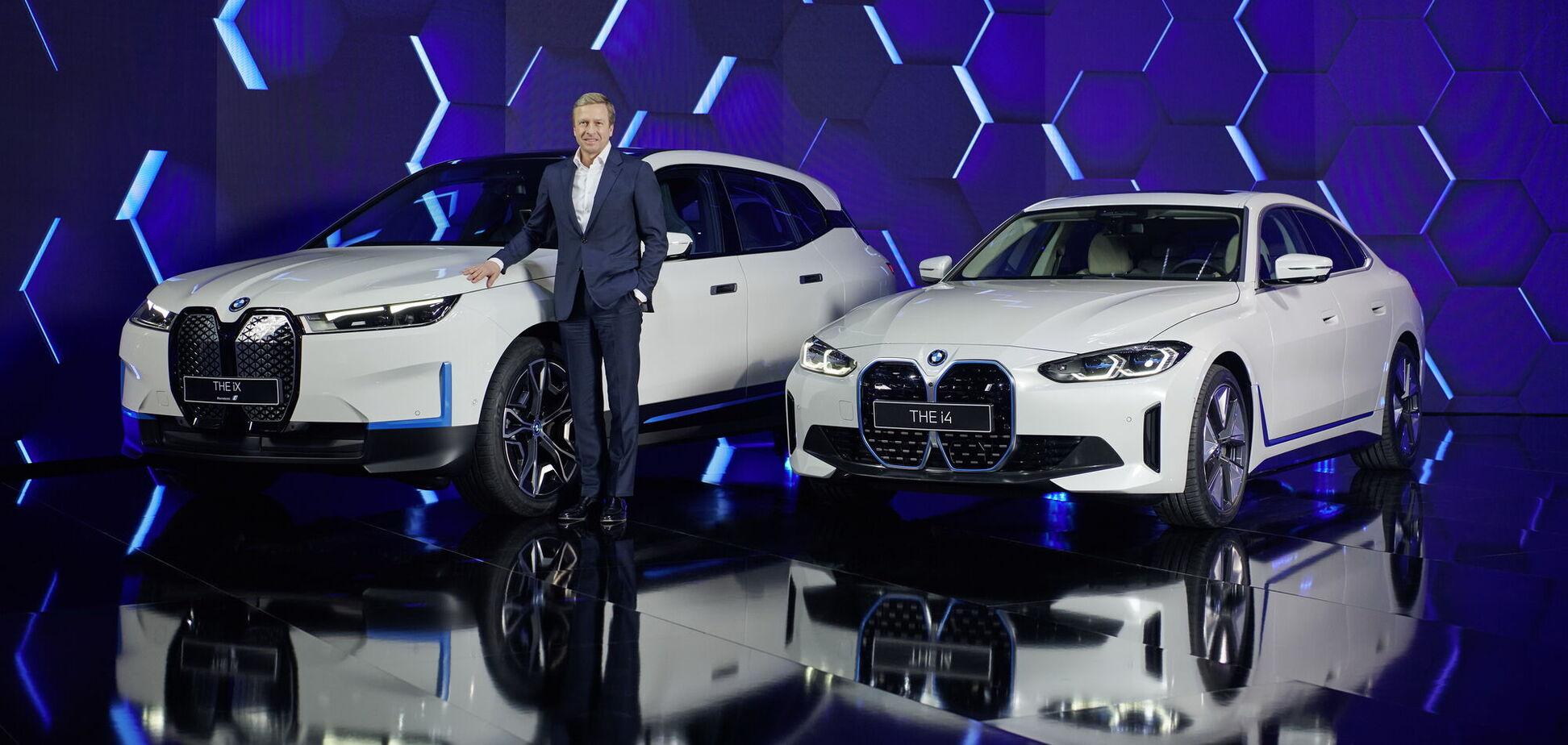 BMW поділилася стратегією розвитку та розповіла про новинки