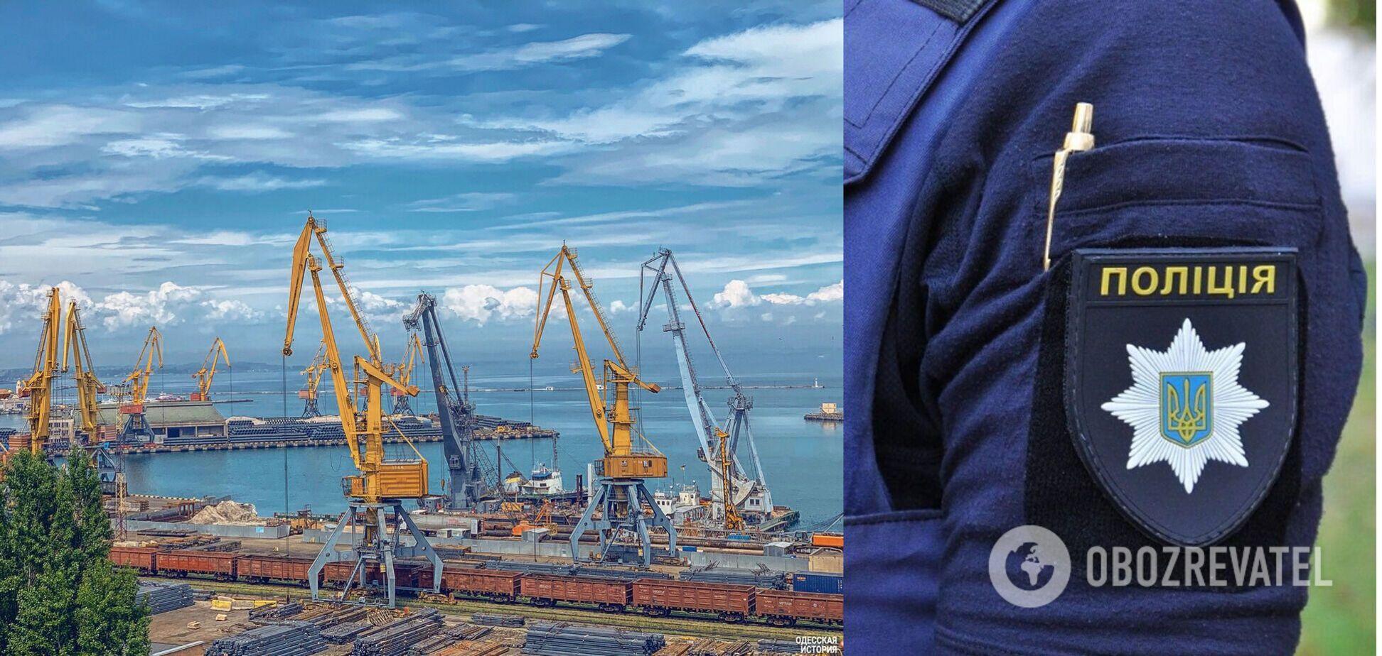 В Одесі чоловік 'замінував' корабель, щоб 'помститися за Л/ДНР'
