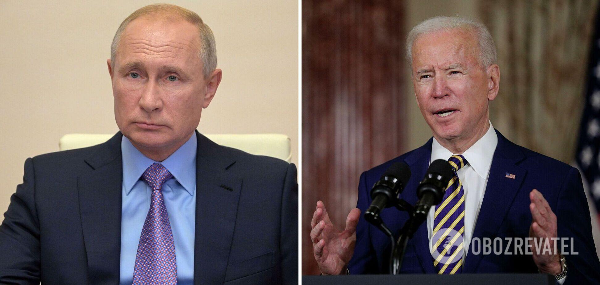 Путін запропонував Байдену онлайн-зустріч: у США президента РФ 'відшили'