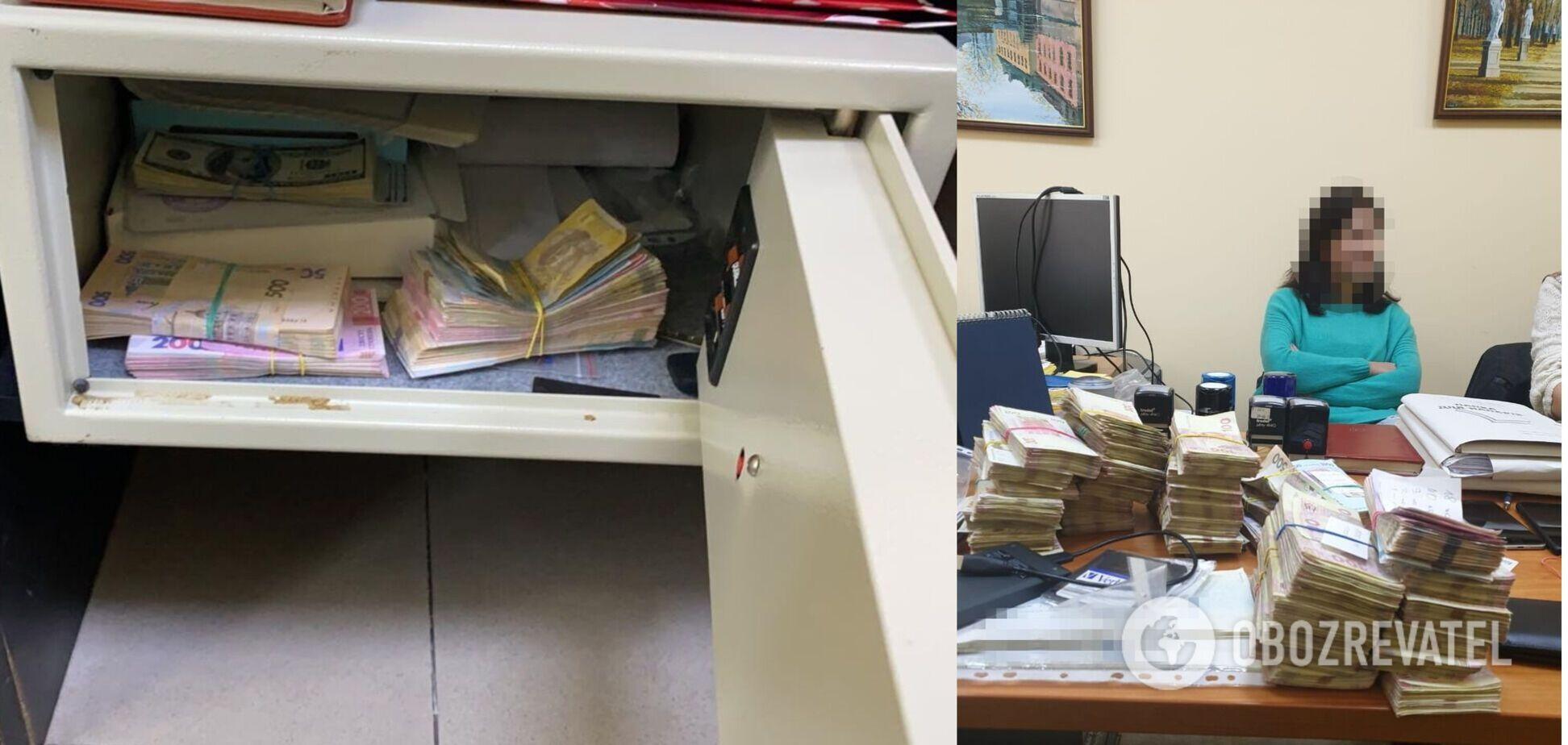 У Дніпрі накрили конвертаційний центр з обігом у сотні мільйонів гривень. Фото