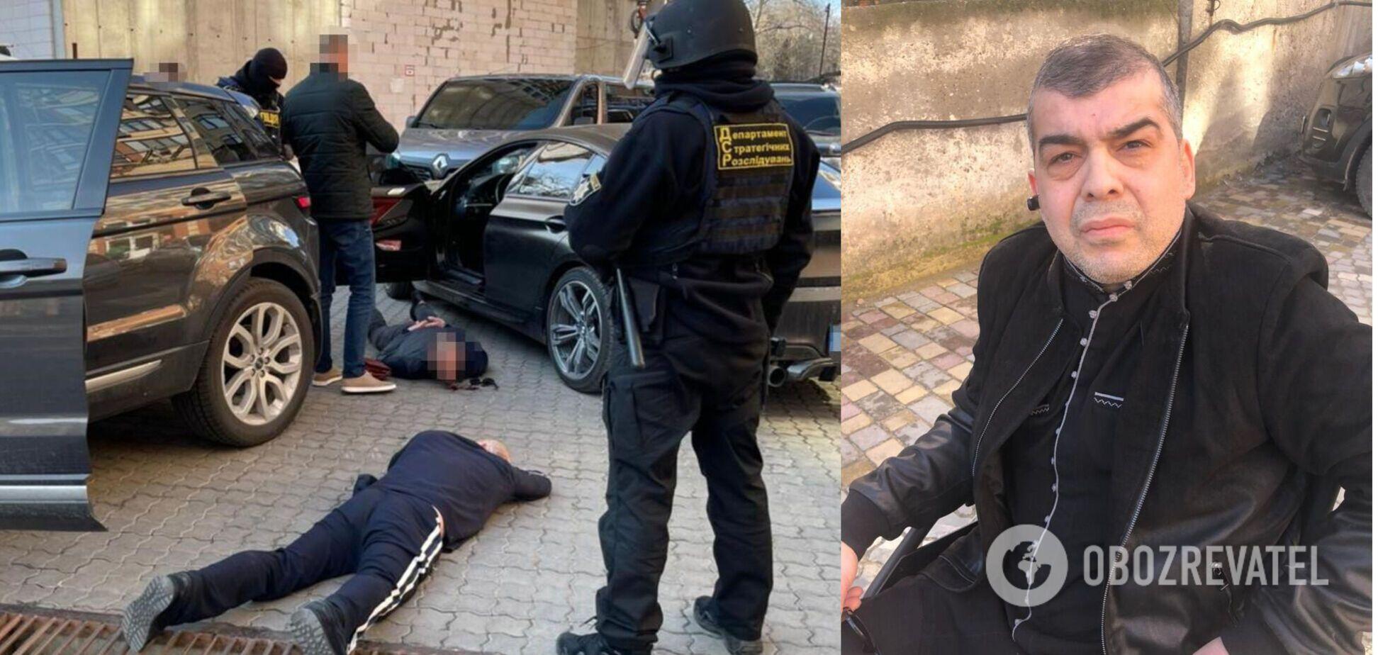 В Одесі затримали злодія в законі Мамуку Хонського. Фото