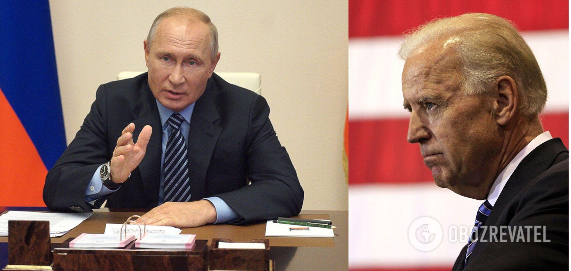 Путін про висловлювання Байдена: хто обзивається, сам так називається