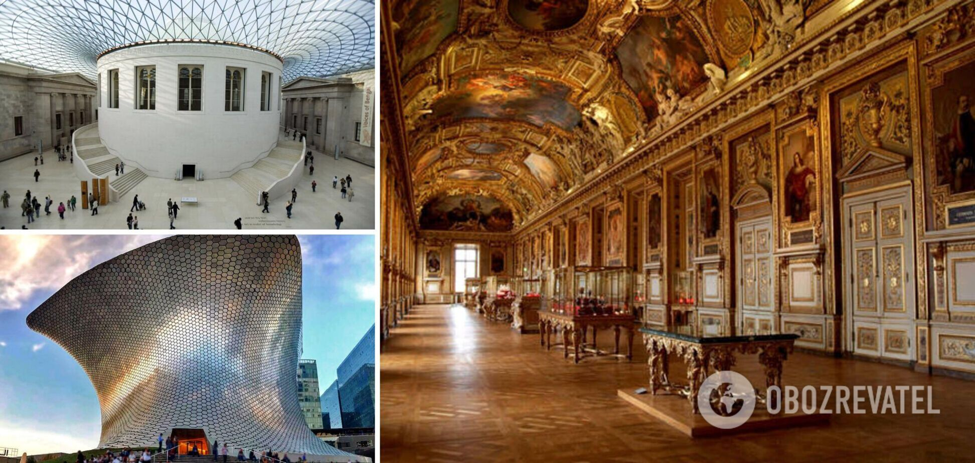 Величайшие музеи мира захватывают своими экспонатами