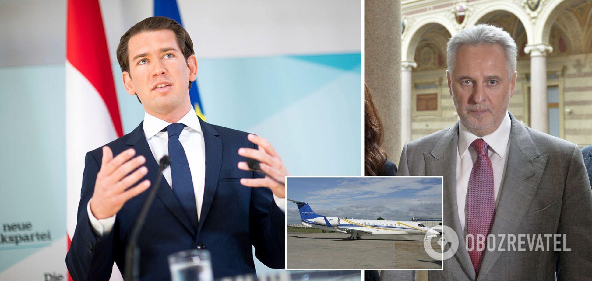 Канцлер Австрії скористався приватним літаком Фірташа – ЗМІ