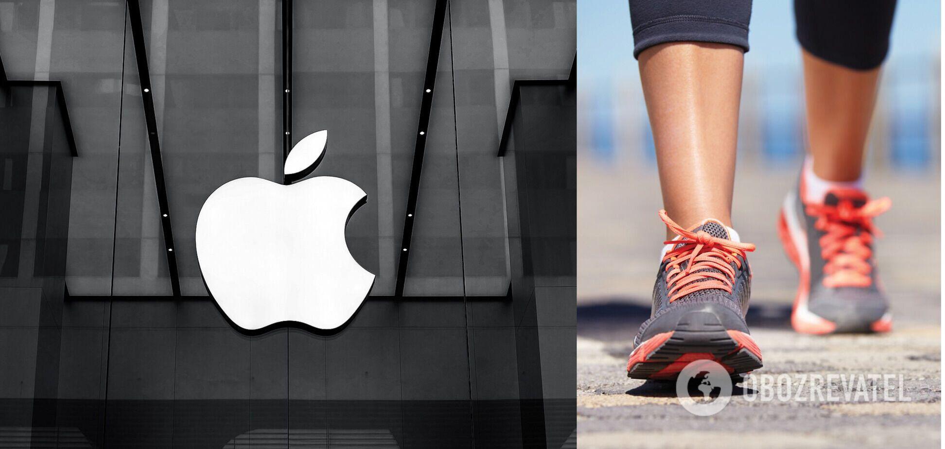 Apple запатентувала 'розумне взуття' для віртуальної реальності