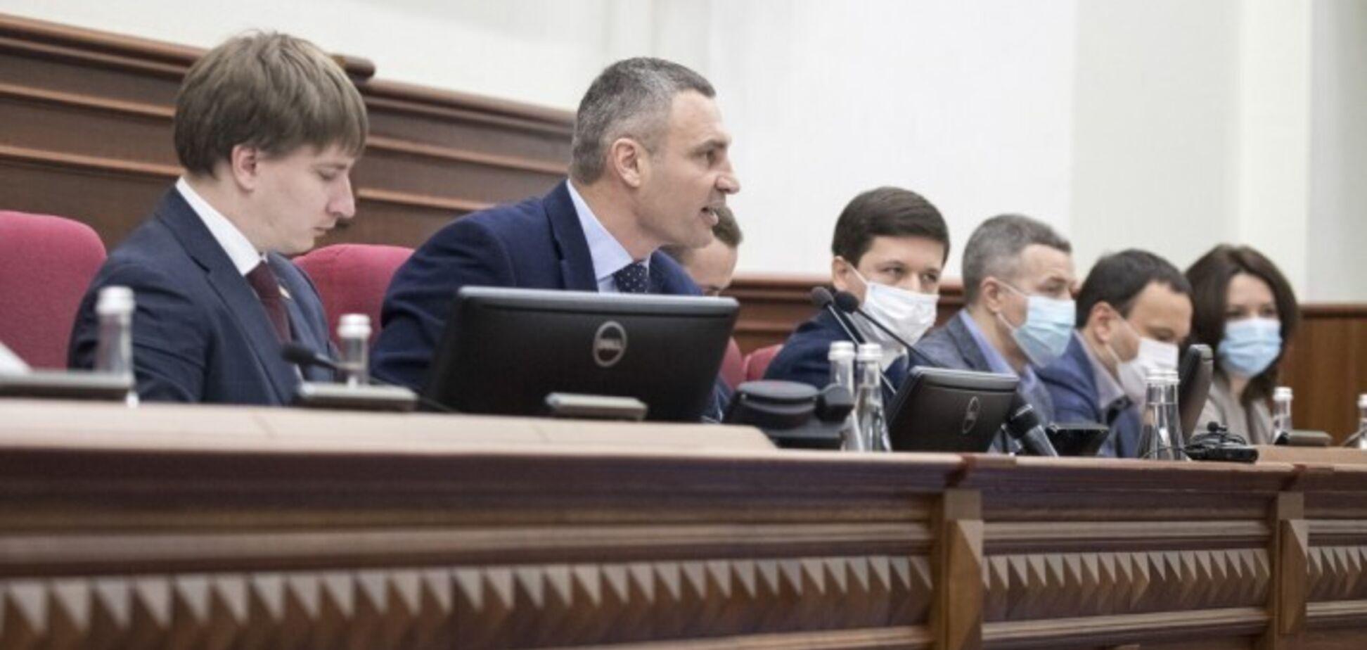 Киевсовет закрылся для посещений