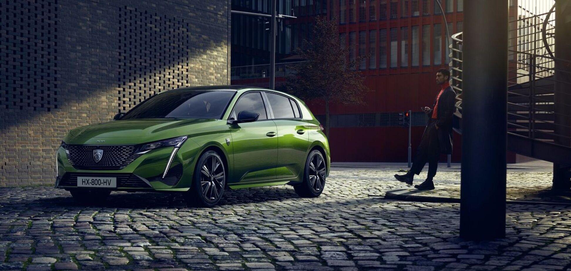Peugeot провела мировую премьеру модели 308