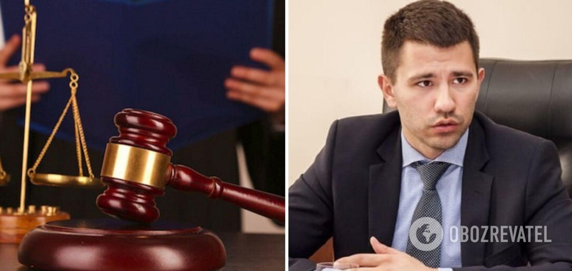 Суд удовлетворил ходатайство Барбула и арестовал ряд сайтов