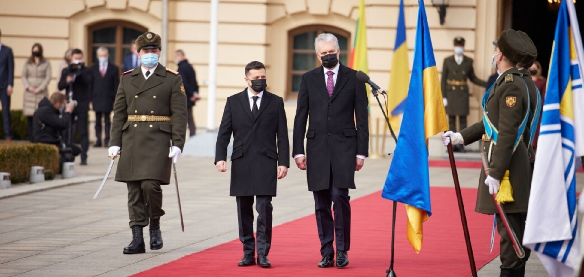 Президент Литви Ґітанас Науседа