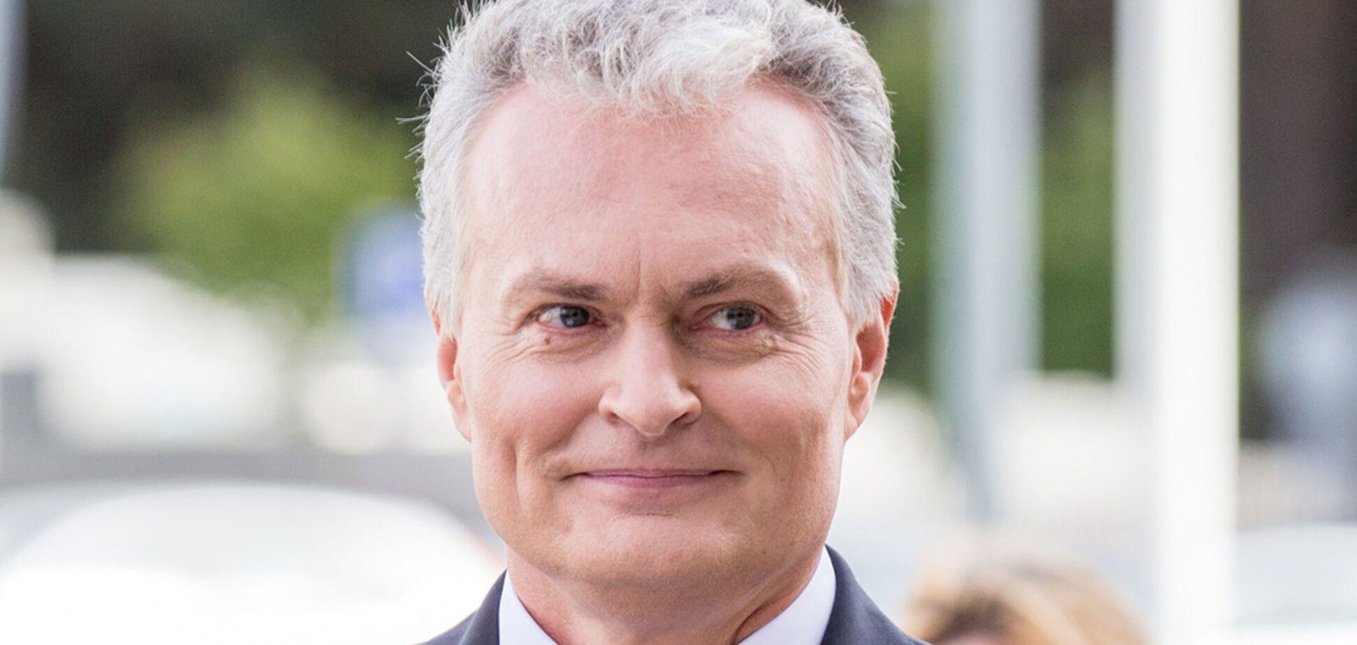 Президент Литви Гітанас Науседа