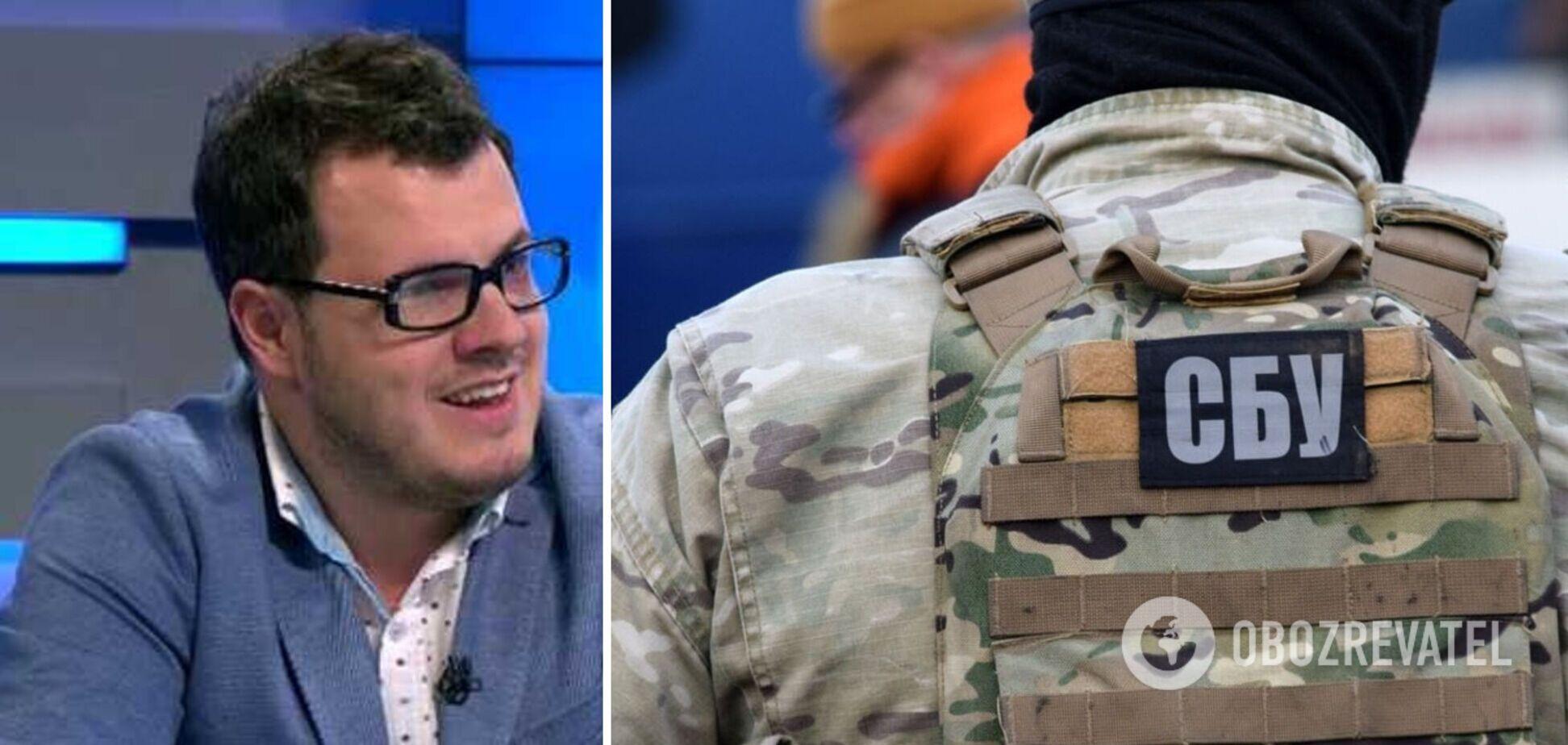 СБУ сообщила о подозрении пророссийскому пропагандисту с каналов Медведчука