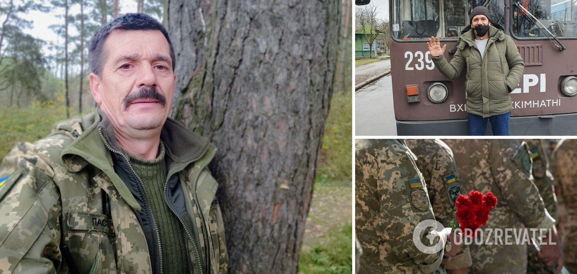 'Я должен быть там!' На Донбассе убили защитника Украины, у него остались дочь и внуки
