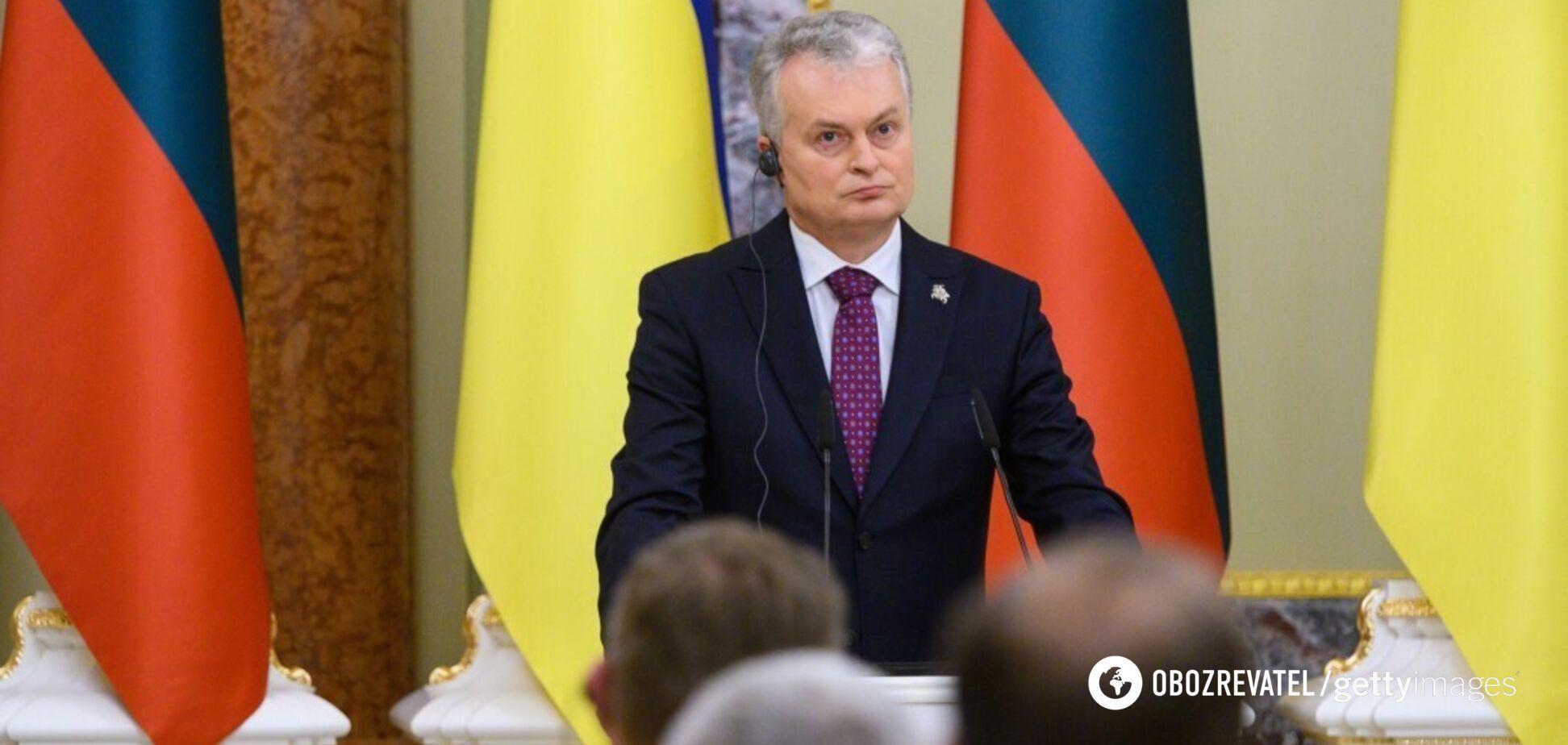 Президент Литви заговорив українською у Раді. Головні тези виступу